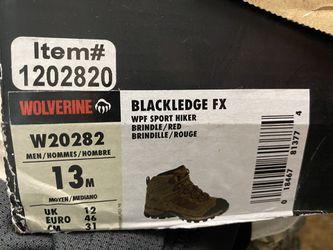 Wolverine Blackledge FX Boots Shoes Thumbnail