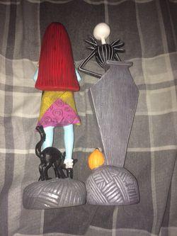 Nightmare before Christmas jack n sally statues Thumbnail