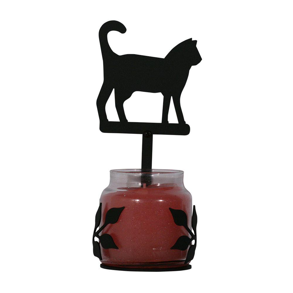 Cat Large Jar Sconce