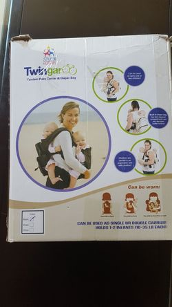 Twingaroo baby carrier Thumbnail