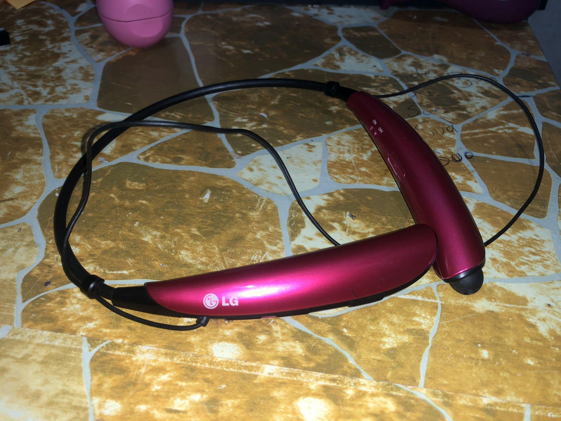 LG Bluetooth headsets