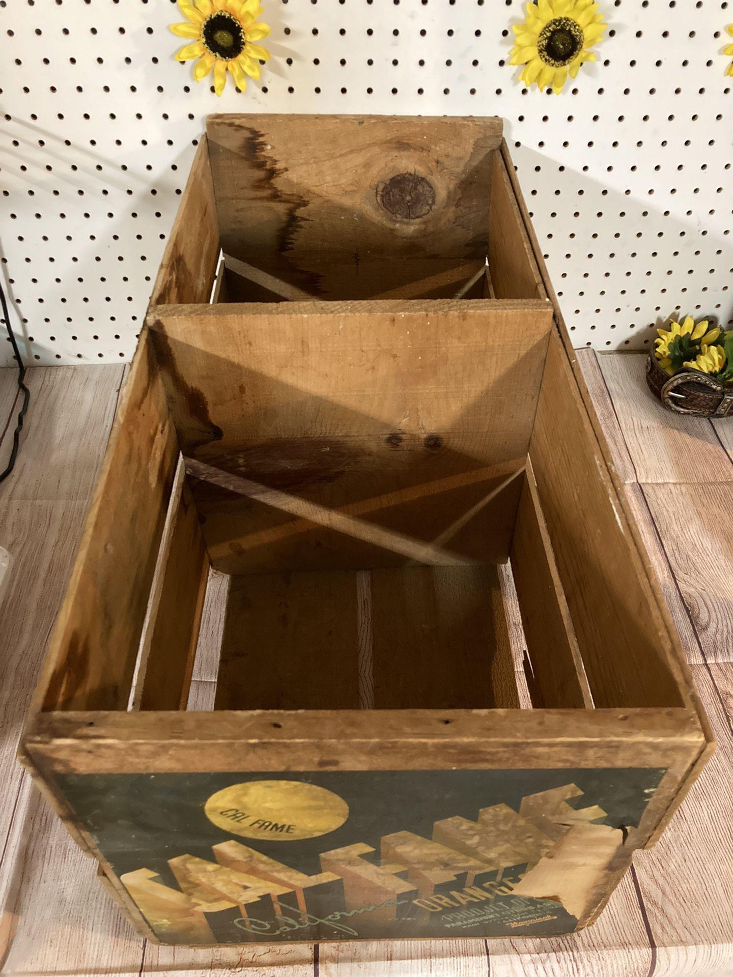 CalFame Oranges Vintage Crate!