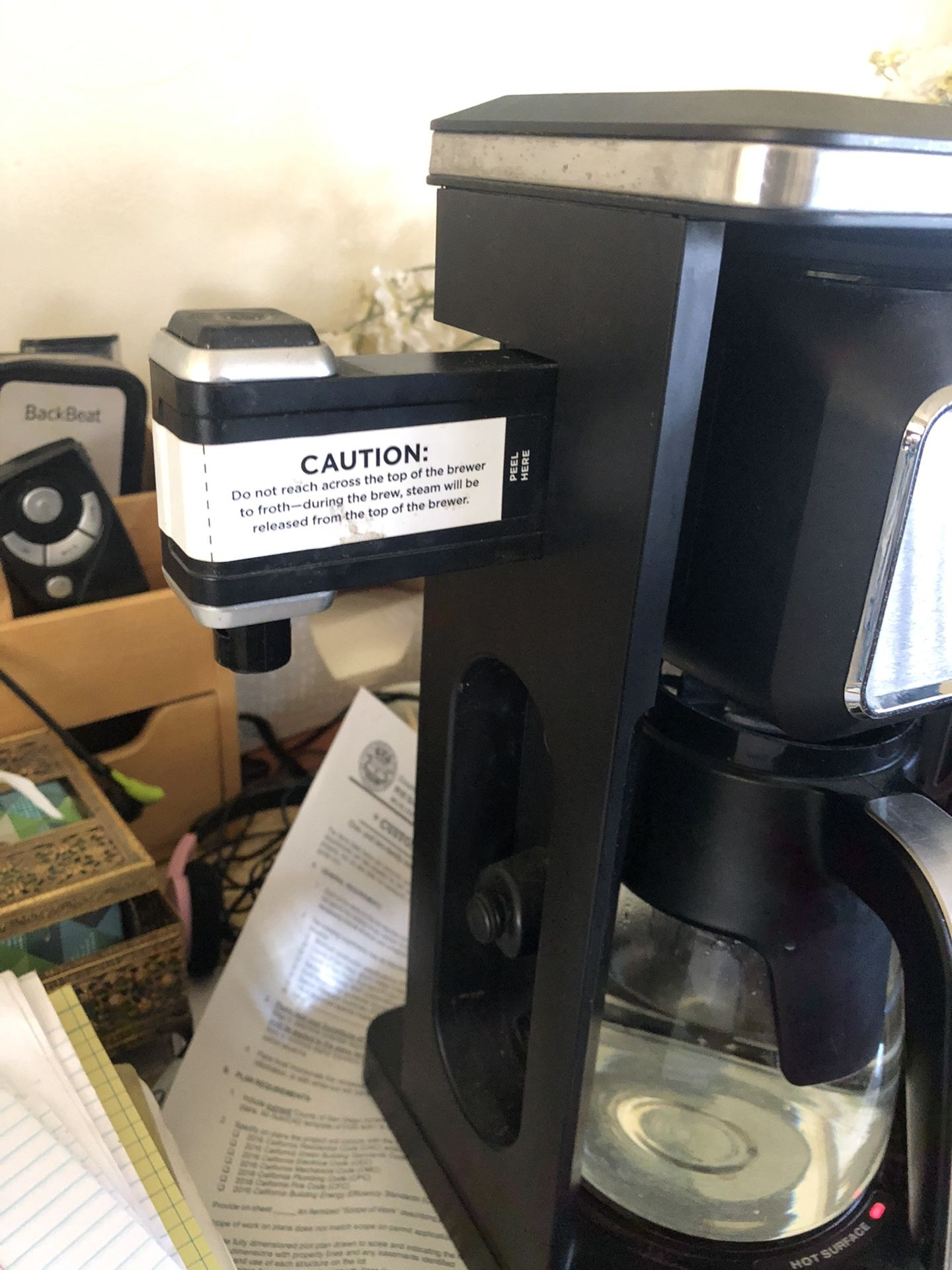 PRICE IS FIRM 10 Cup Ninja Coffee Bar System with Permanent Stainless Steel Mesh Filter and  Glass Carafe  79 (retails for $255 at the stores)  You ar