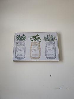 Mason Jar Canvas Thumbnail