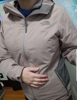 Size Small Pink North Face Jacket Thumbnail