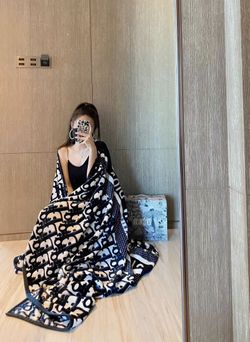 Christian Dior Blanket - 150cm by 200cm Thumbnail