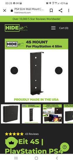 HIDEit PS4 Wallmount. Thumbnail
