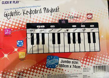 Click N' Play Gigantic Keyboard Play Mat Thumbnail