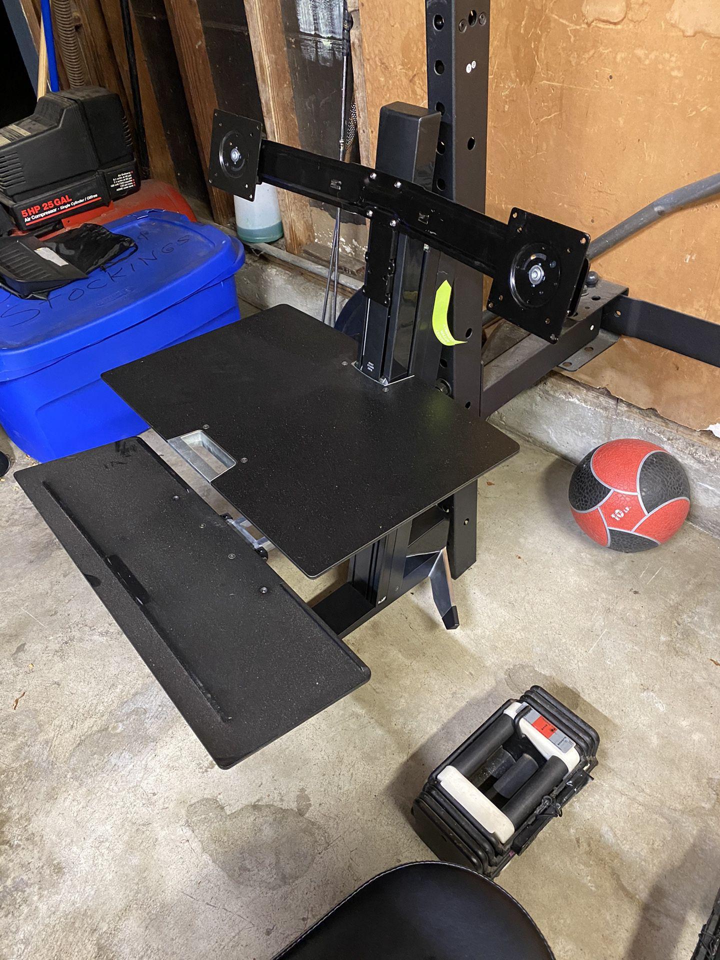 Ergotron Dual Monitor Sit/Stand Station