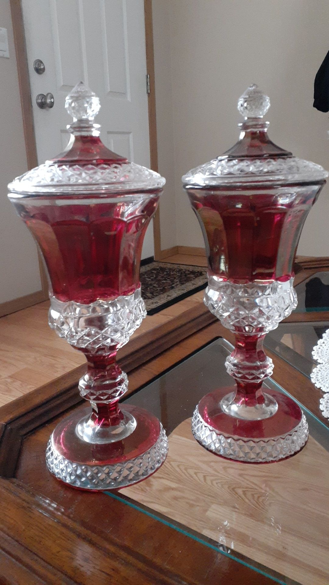 Antique Candy dishes