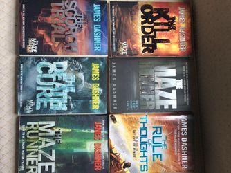 Maze runner book series Thumbnail