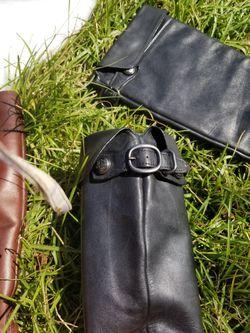 Coach women's leather boots Thumbnail