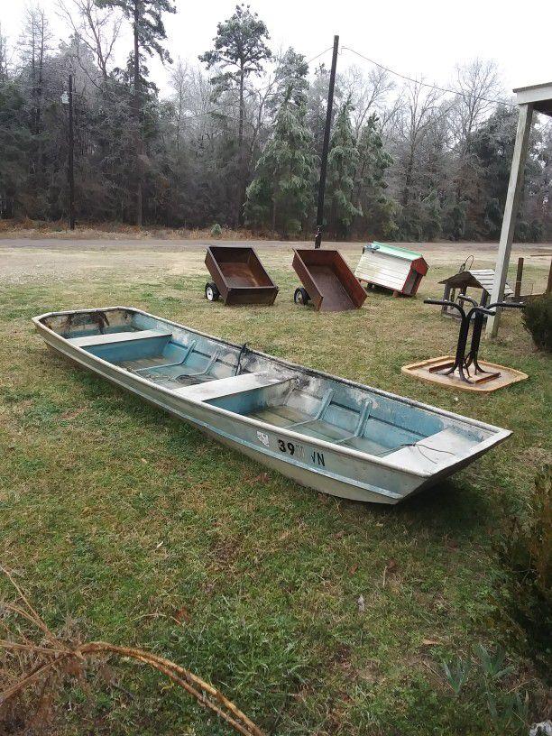 14 Ft. Aluminum Flat Bottom Boat