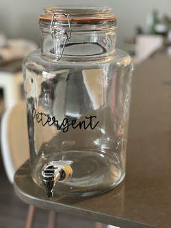 Laundry Detergent Glass Jar Thumbnail