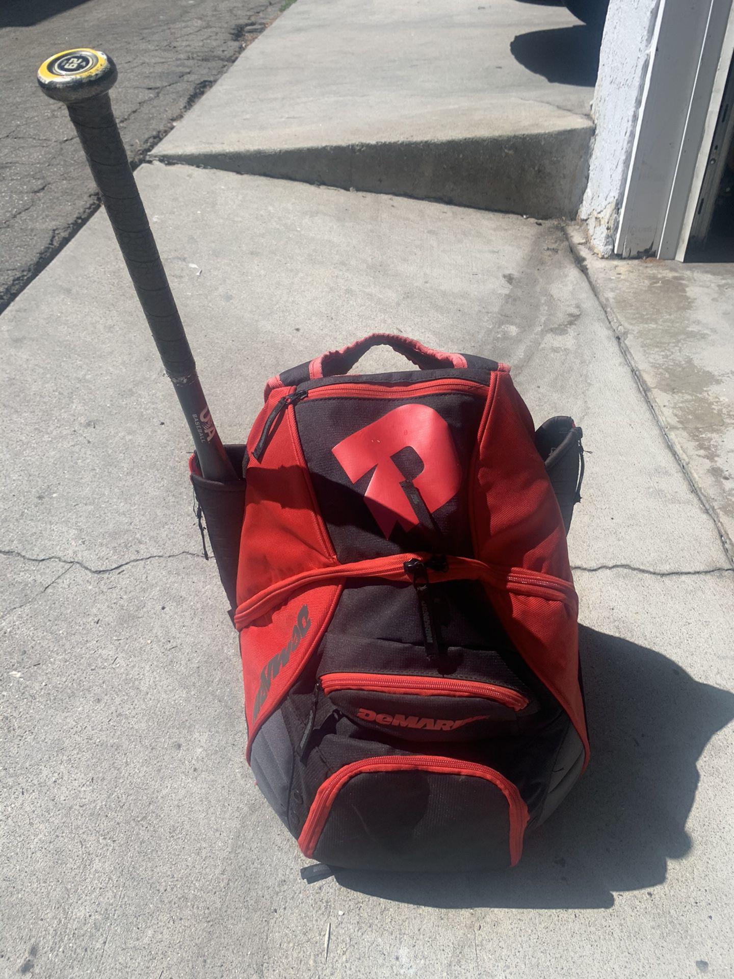 Baseball Backpack  Kleats Helmut & Mitt