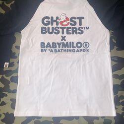 Brand Brew Ghost Buster Bape Baseball T-shirt  Thumbnail