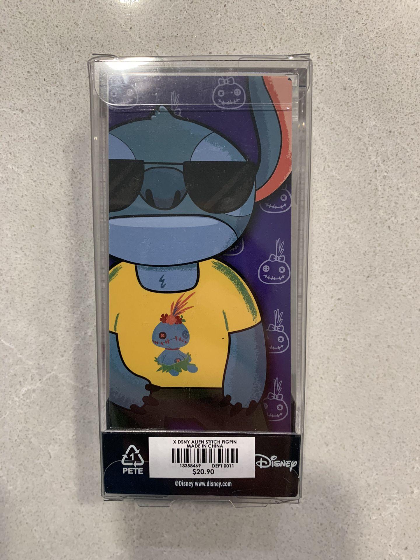 Stitch Scrump Shirt FiGPiN Limited Edition LE1440 Hot Topic Exclusive 422 Lilo Disney