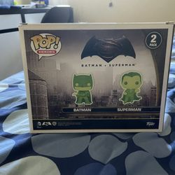 Batman Vs Superman Funko Pop Thumbnail
