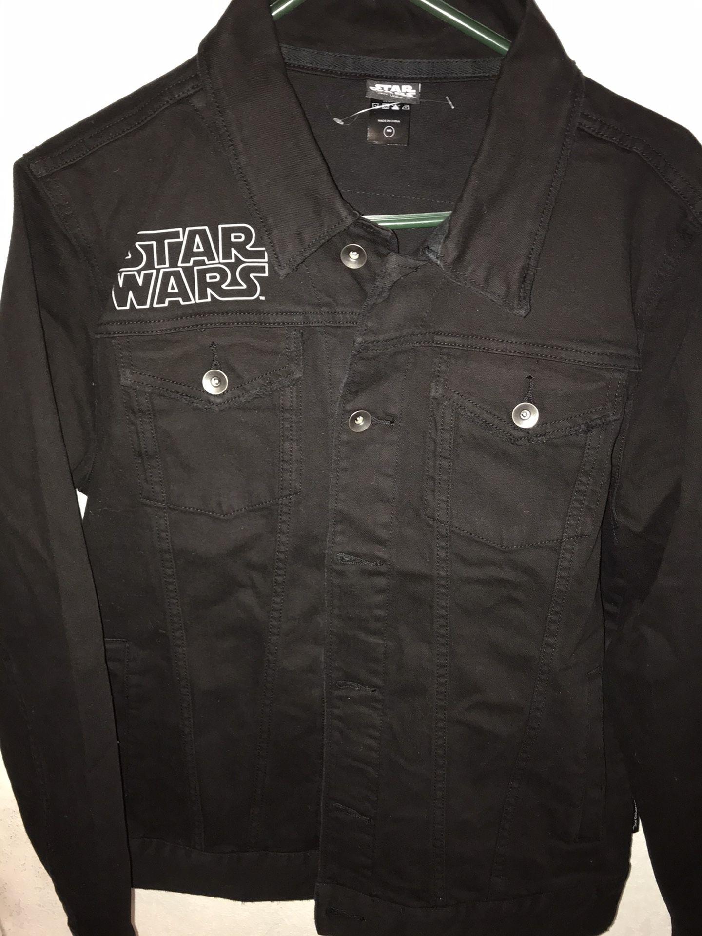 Star Wars Black Denim Jacket