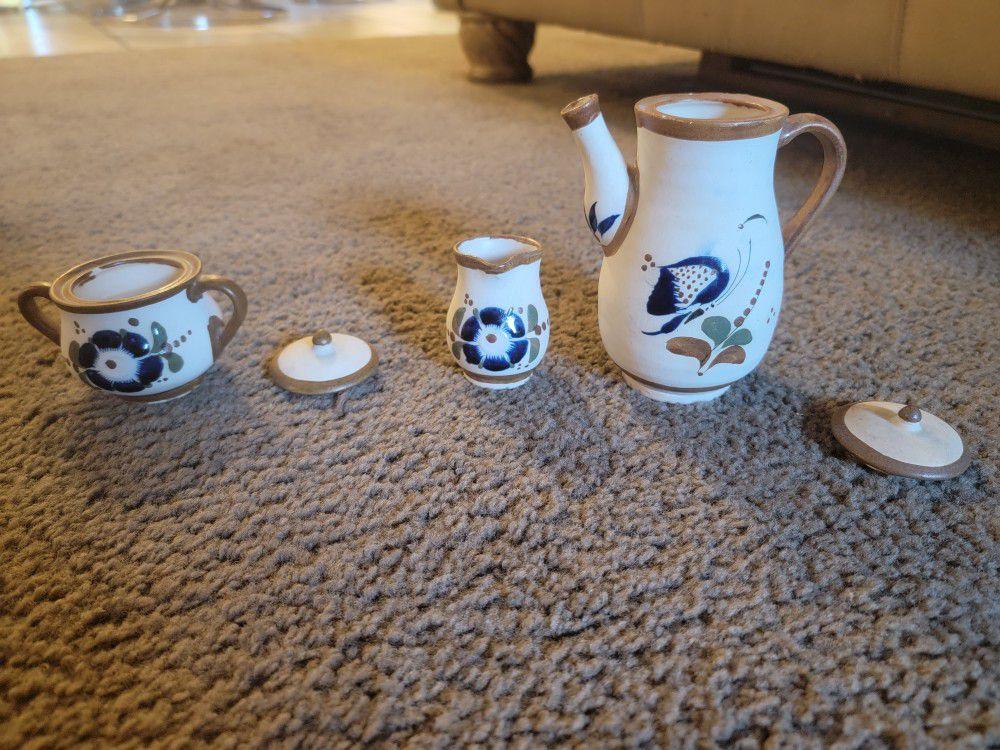 Tonala 11 Piece Miniature Tea Set