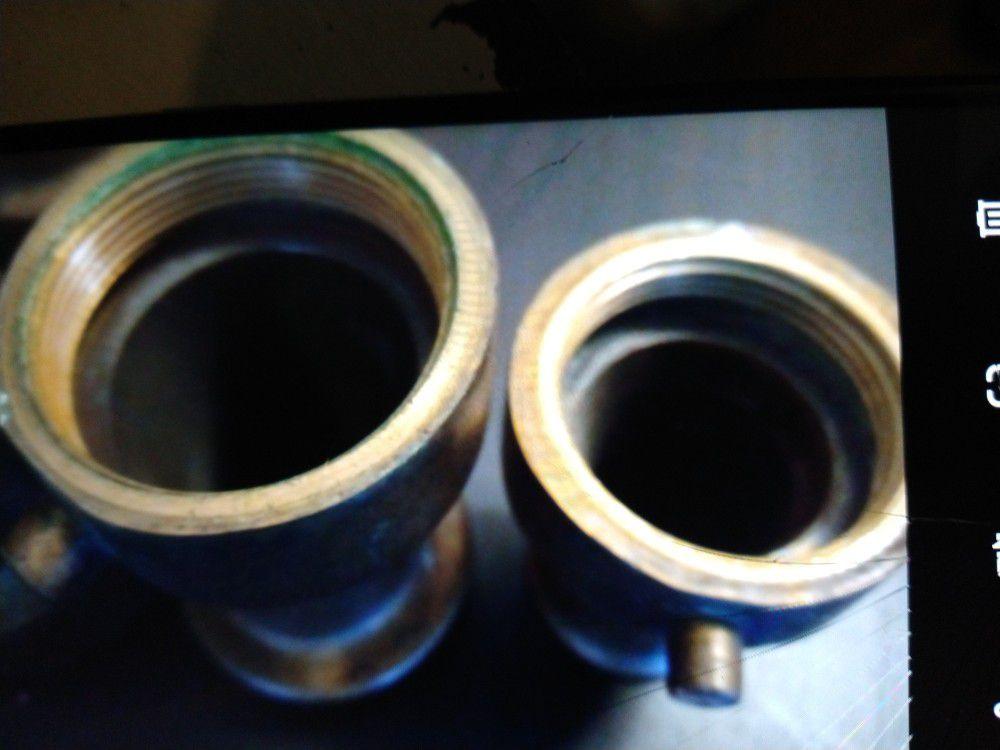 Vintage Hose Nozzles, 3 Total