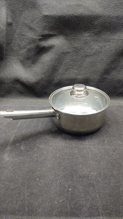 """Checkmate Premium Cookware 8"""" Stainless Steel Sauce Pot Thumbnail"""