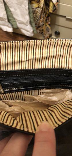 Calfskin Leather Crossbody Messenger Bag, Black Thumbnail