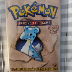 POKEMON 1ST EDITION FOSSIL BOOSTER PACK  Thumbnail
