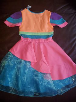 Jojo's Siwa Bow Birthday Dress Party Halloween Girls Large 10-12  NWT Thumbnail