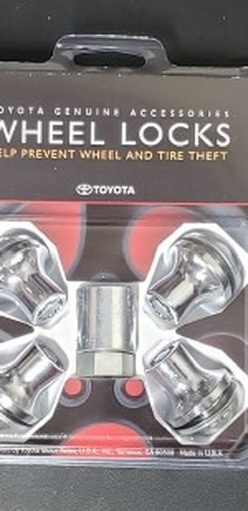 OEM Toyota Truck Alloy Wheel Locks