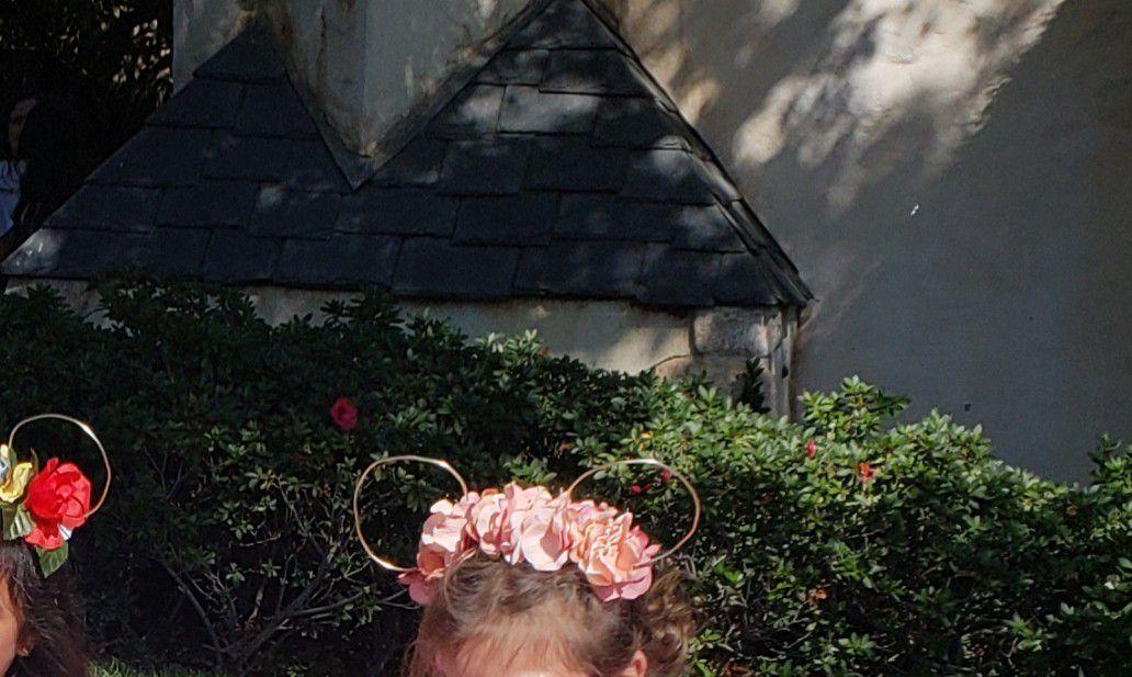 Mickey custom ears for princesses