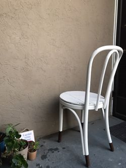Vintage Style Bistro Cafe Casual Dining Chair Thumbnail