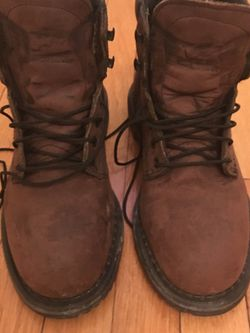 Redwing insulated EH work boots with steel toe Thumbnail