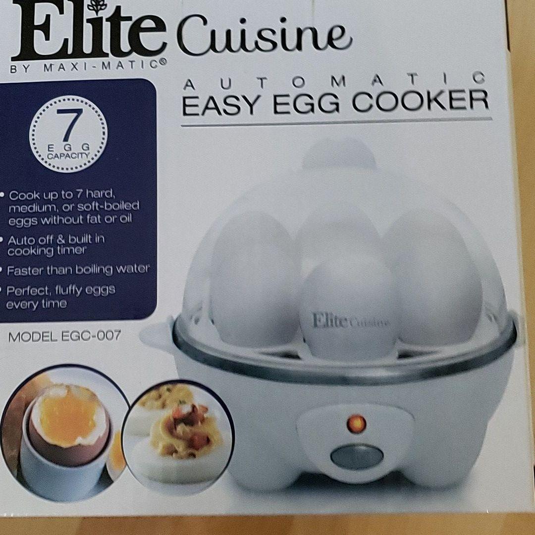 elite cuisine easy egg cooker