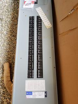 Electrical Panel, 3 Phase, 400 Amp, Garage Shed Barn Thumbnail