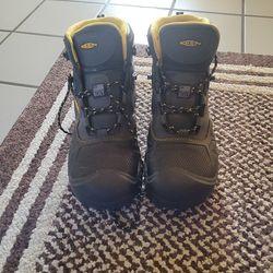 Keen utility safetey toe work boots 10 1/2 Thumbnail