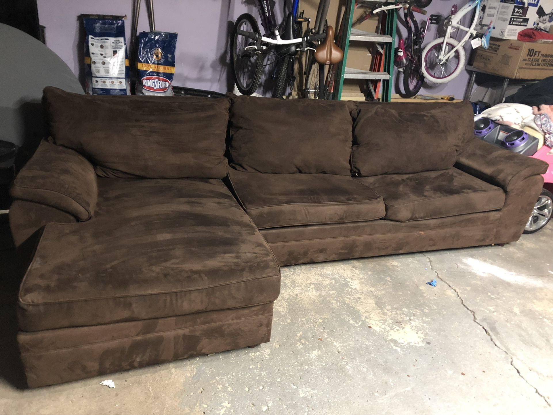 Sectional sofa  Fold In Bed