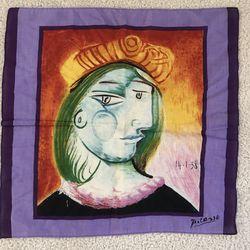 Picasso Silk 🤷♀️ Scarf Thumbnail