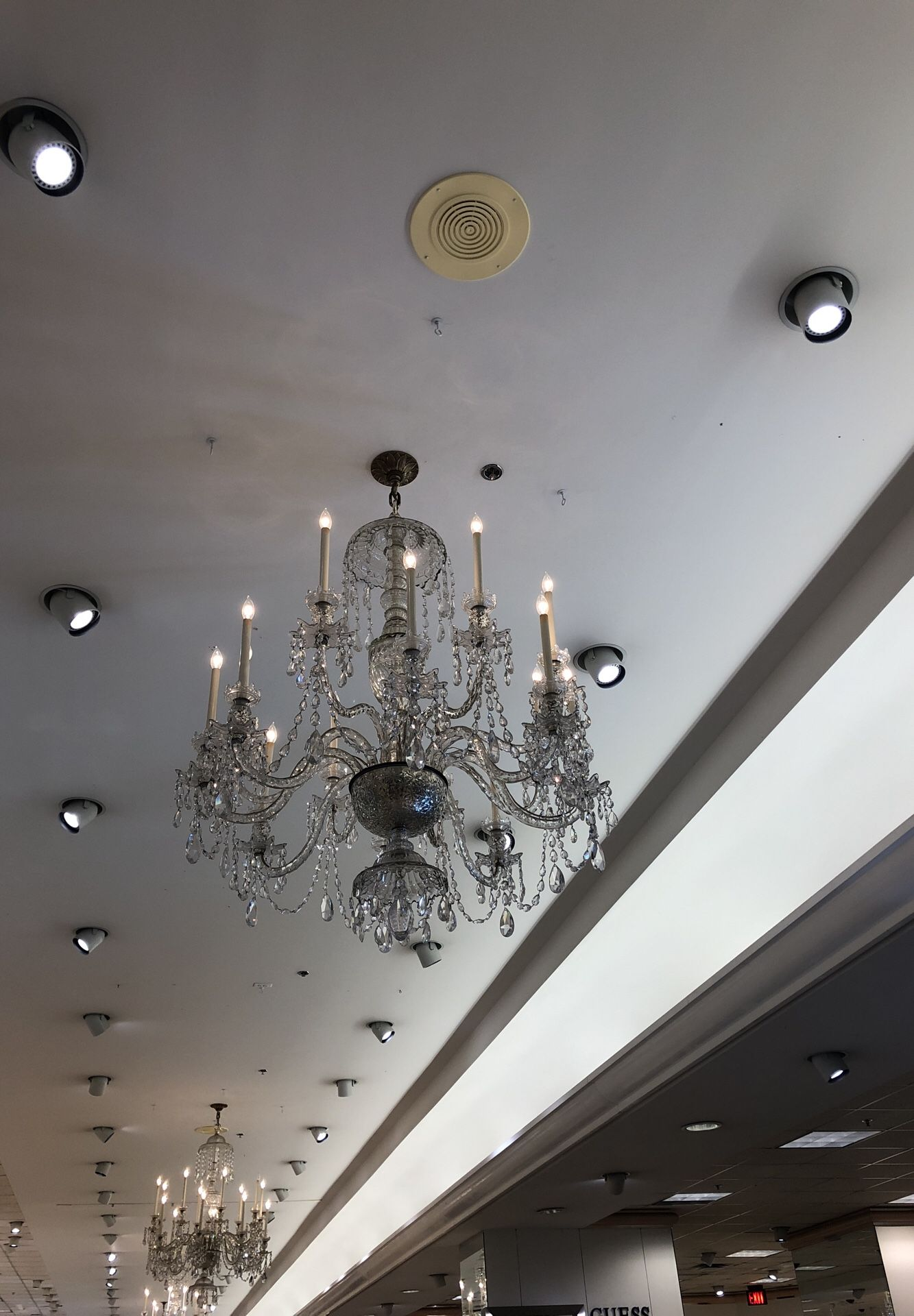 Waterford - 60's era crystal chandelier @ 1,000.00 each - own 10 pieces.