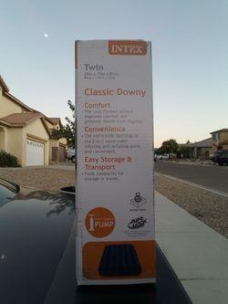 Intex Twin Air Mattress (x2) Thumbnail