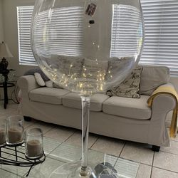 Big Red Wine Glass For Decoration & Chafing dishes Thumbnail