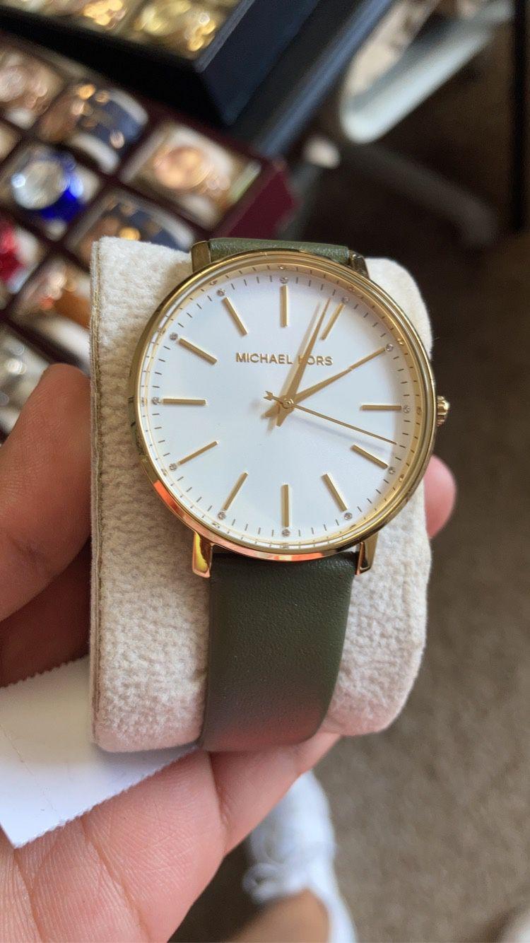 Michael Kors Women's Leather Watch