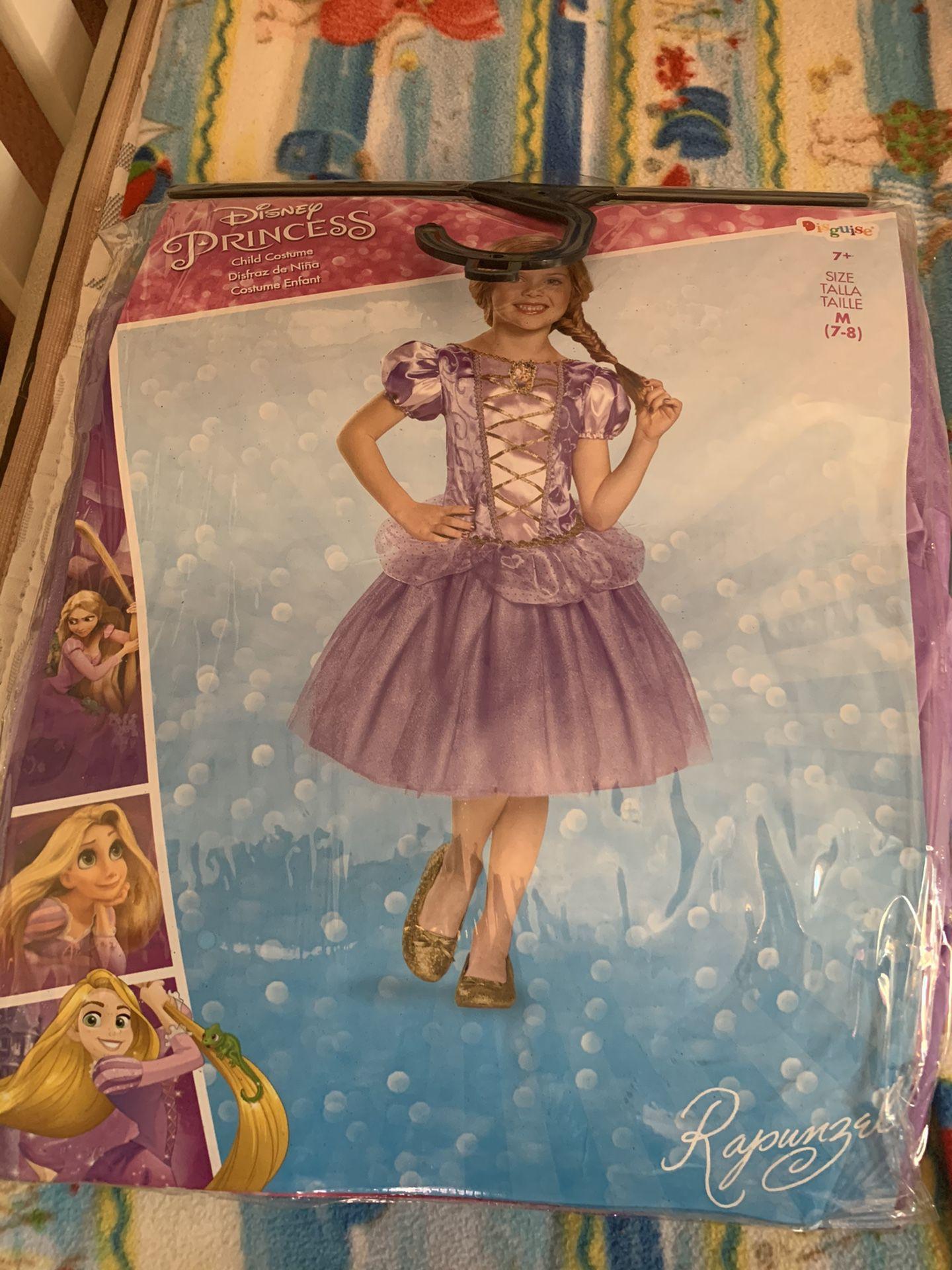 Rapunzel costume size 7-8