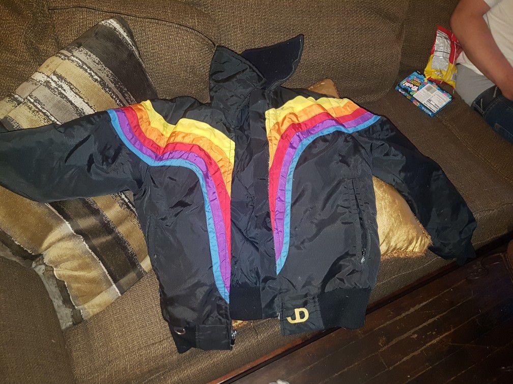 John DEERE 70's VINTAGE Ski Jacket Small W