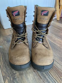Red Wing Steel Toe Boots Thumbnail
