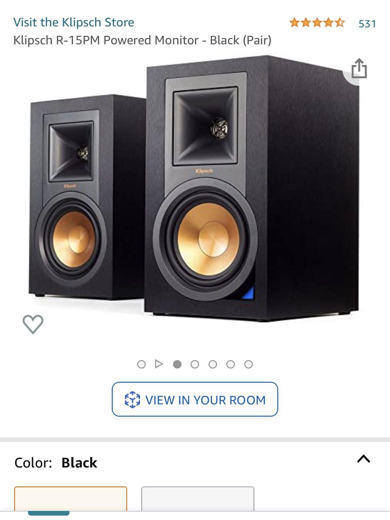 Klipsch R-15PM Active Speakers