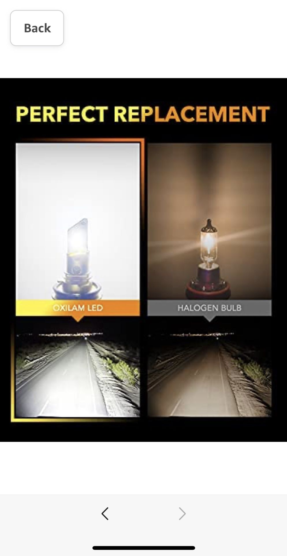 H11/H8/H9 LED Bulb Mini Size
