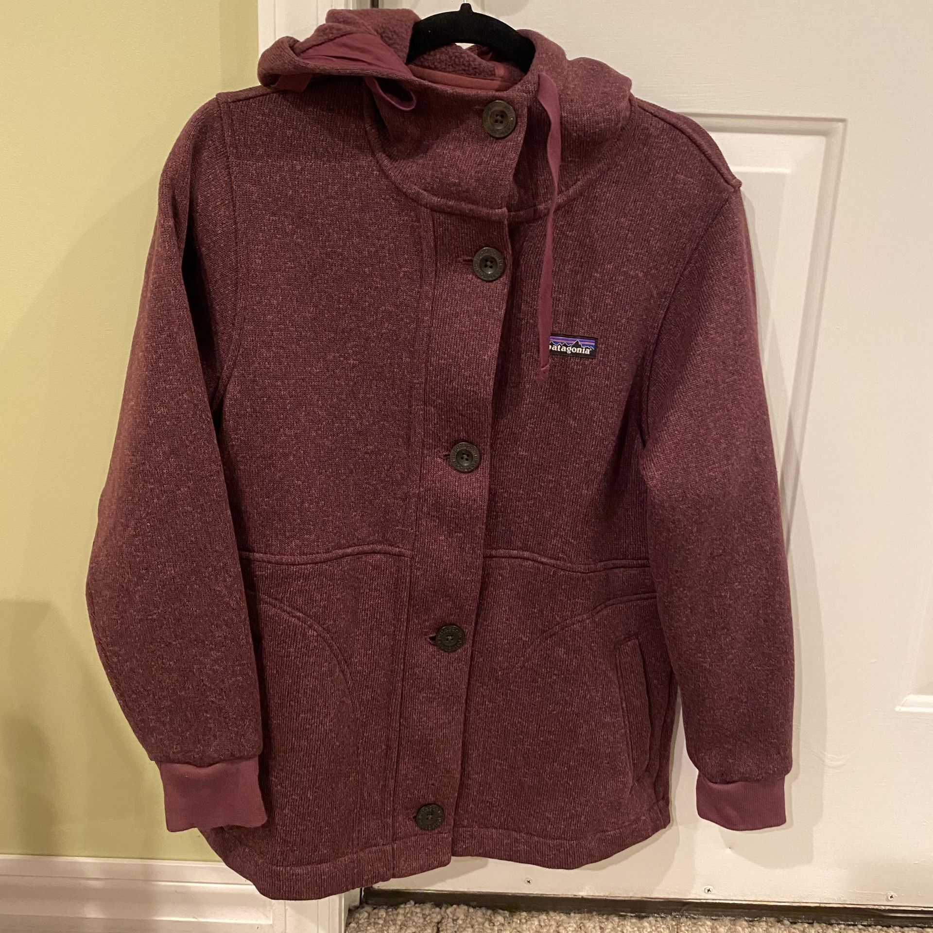 Patagonia women's better sweater coat (small)