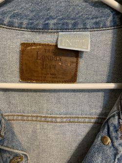 Junior's Quality Denim Cropped Jacket Thumbnail