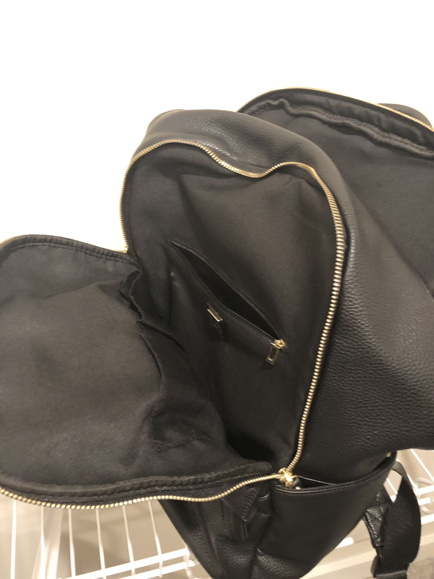Guess leather backpack